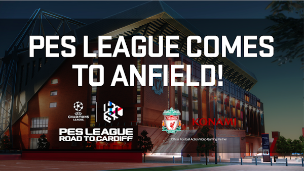 PES League comes to Anfield