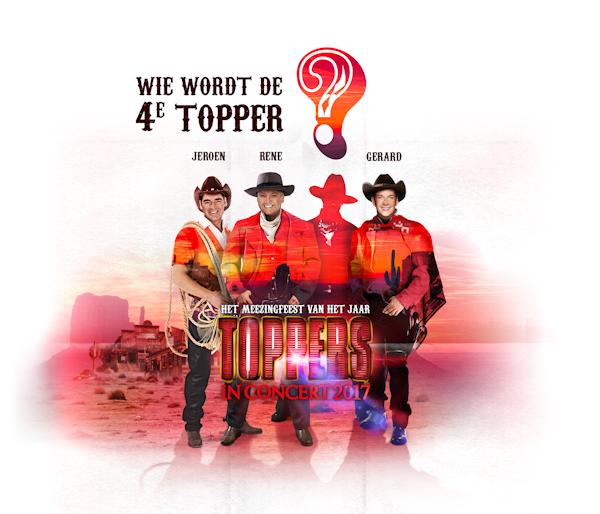 Nieuwe Topper bij formatie Toppers in Concert vanavond bekend