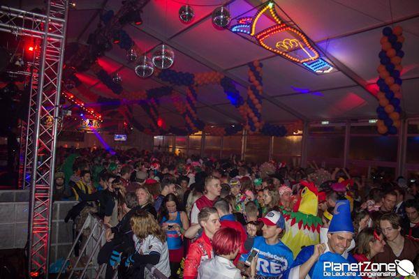 Korte Video: Feesttent Carnaval Eindhoven (25 feb)