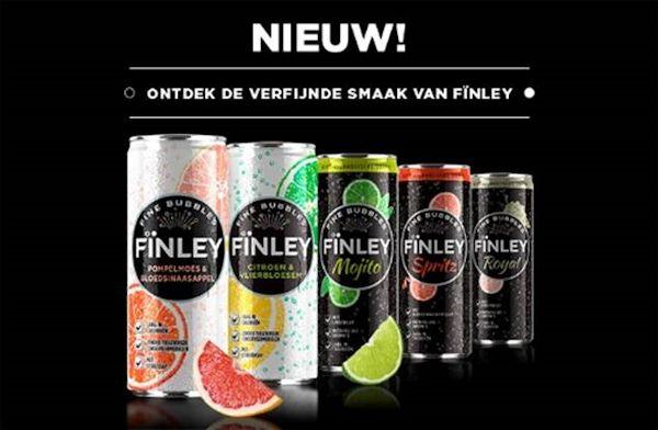 Coca-Cola haalt verfijnd frisdrankmerk FÏNLEY naar Nederland