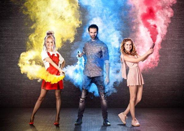 Josje Huisman, Laura Tesoro en Sean Dhondt gaan op zoek naar The Voice Kids bij VTM