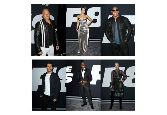 Video wereldpremière Fast & Furious 8 New York