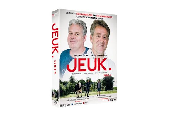 Comedyserie Jeuk seizoen 4 vanaf 16 mei op DVD
