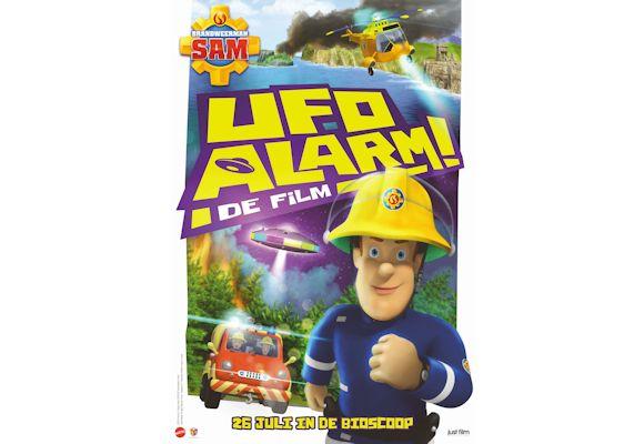 Winactie Brandweerman Sam: UFO Alarm