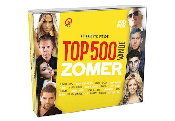 Winactie – Qmusic Top 500 van de Zomer (2017)