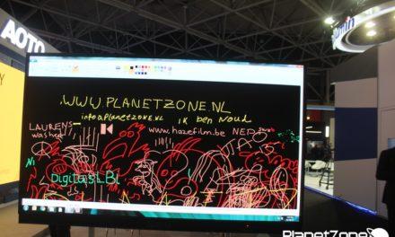 PZTV vanuit IBC: 8K en Oprolbare tv schermen gaan er komen!