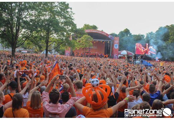 Foto's Huldiging Europees Kampioen Oranjedames Utrecht 7 augustus 2017 2/3