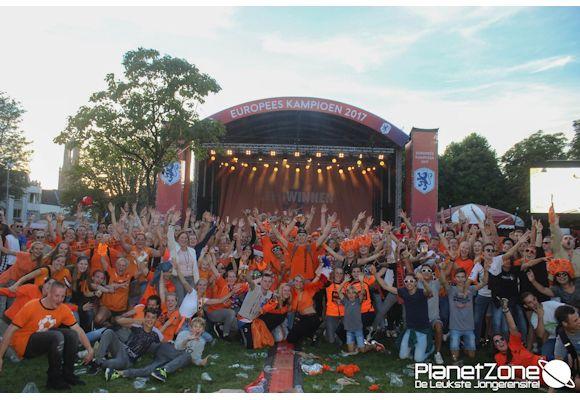 Foto's Huldiging Europees Kampioen Oranjedames Utrecht 7 augustus 2017 3/3