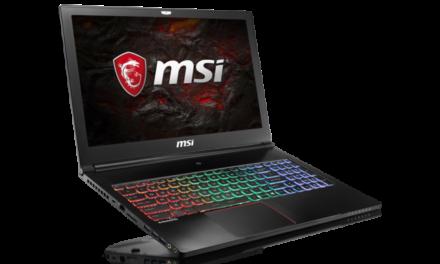 MSI komt met betaalbare game notebook: GS63 Stealth