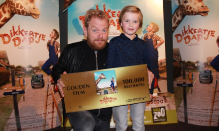 Familiefilm Dikkertje Dap ontvangt Gouden Film
