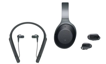 Sony 1000X-assortiment noise cancelling draadloze headphones