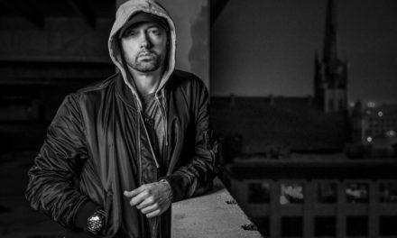 Eminem aanwezig bij MTV EMA in Londen