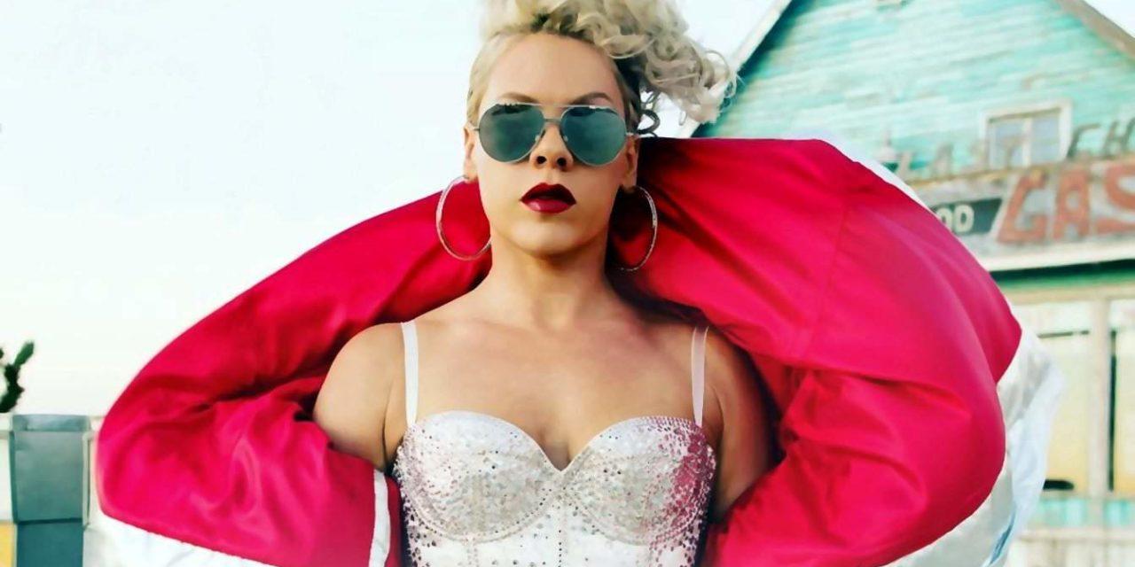 De videoclip 'Beautiful Trauma' van Pink is vandaag gepubliceerd!
