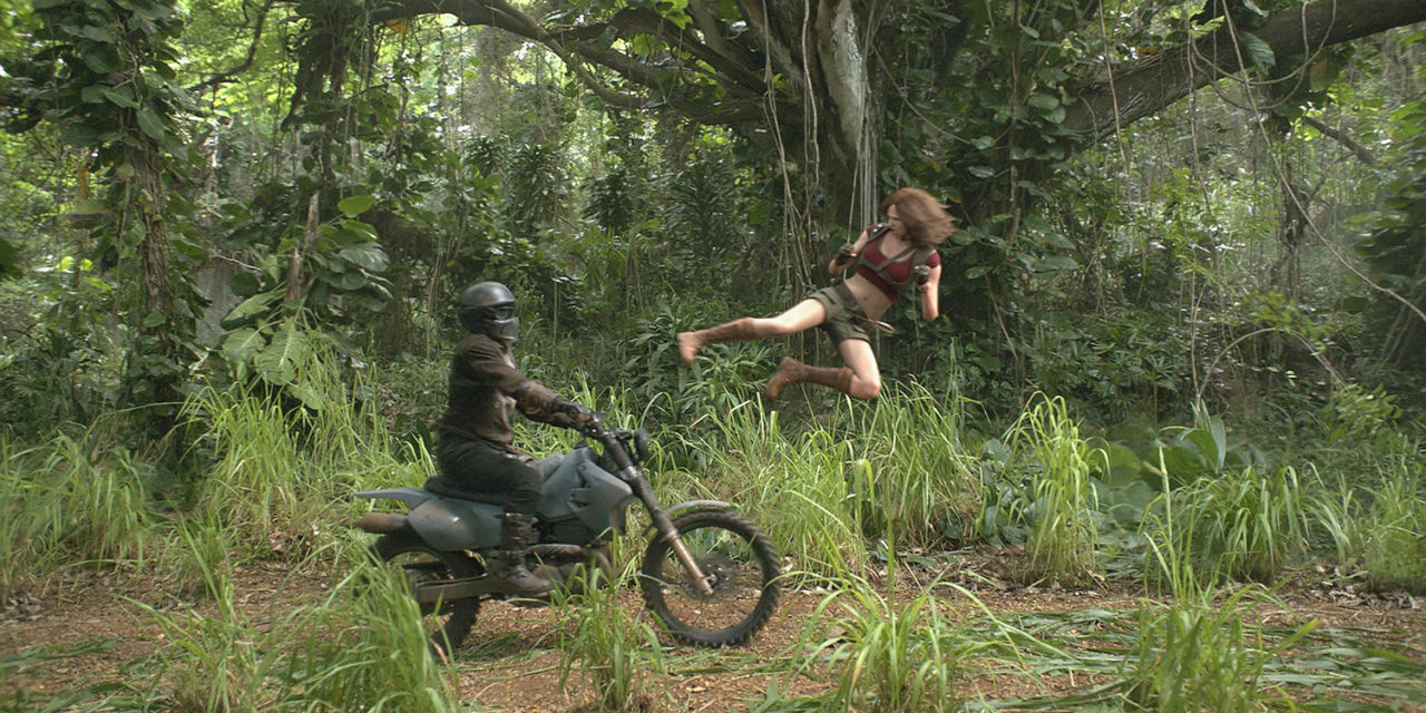 PlanetZone TV: Jumanji Welcome to the jungle 4DX premiere