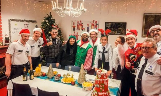De Buurtpolitie zorgt voor een zorgeloze Kerst