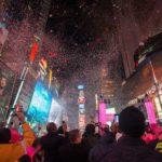 Times Square is klaar voor 2018