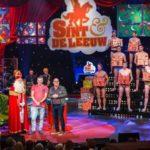 Sinterklaas viert verjaardag bij Paul De Leeuw
