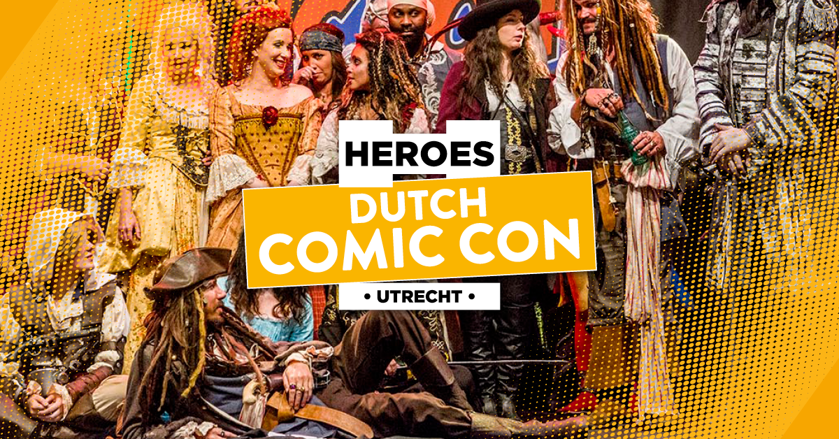 Ga naar Dutch Comic Con dit weekend!