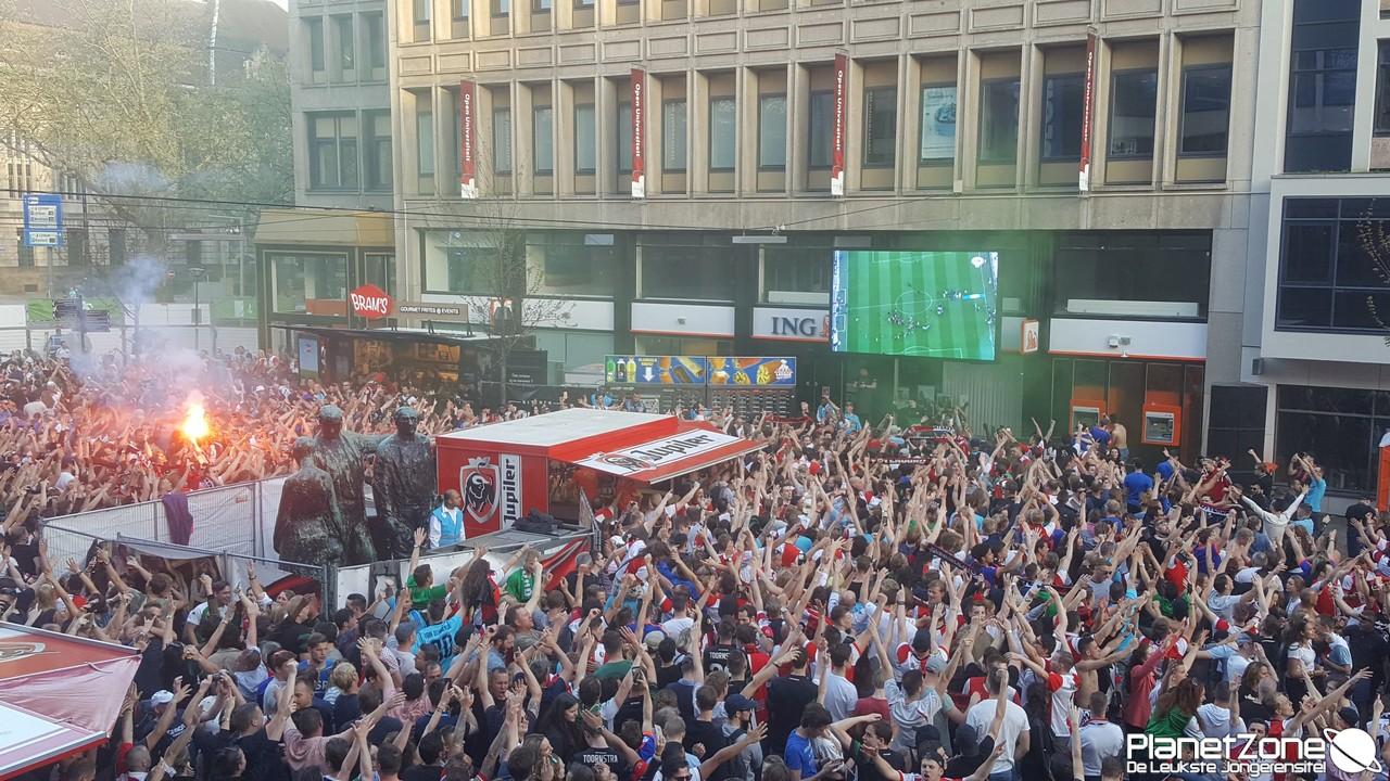 Huldiging bekerwinnaar Feyenoord maandag live op FOX Sports & alle info