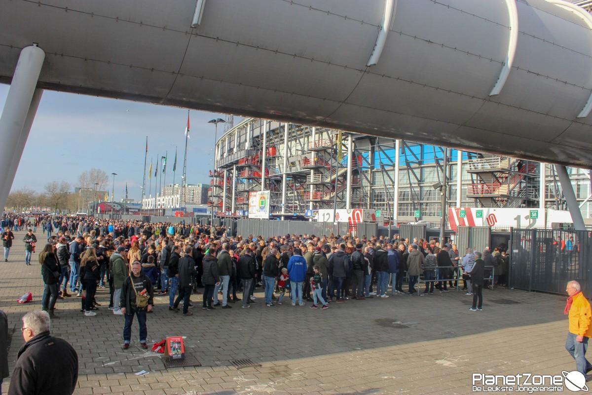 Foto's Feyenoord – AZ 11 maart 2018