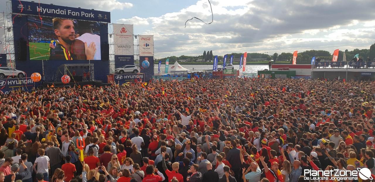 Video & Foto's WK 2018 België – Panama 18 juni 2018 Antwerpen