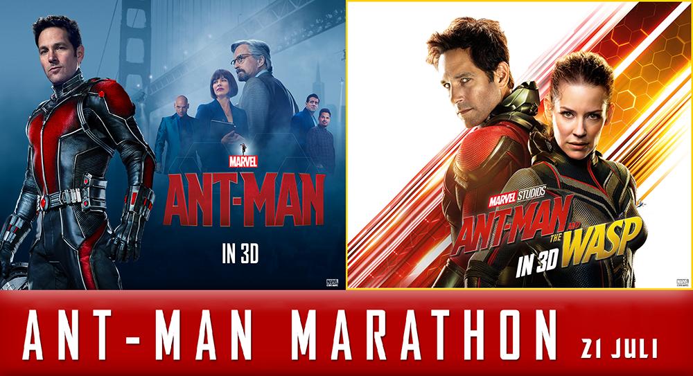 Ant-Man Marathon bij Kinepolis
