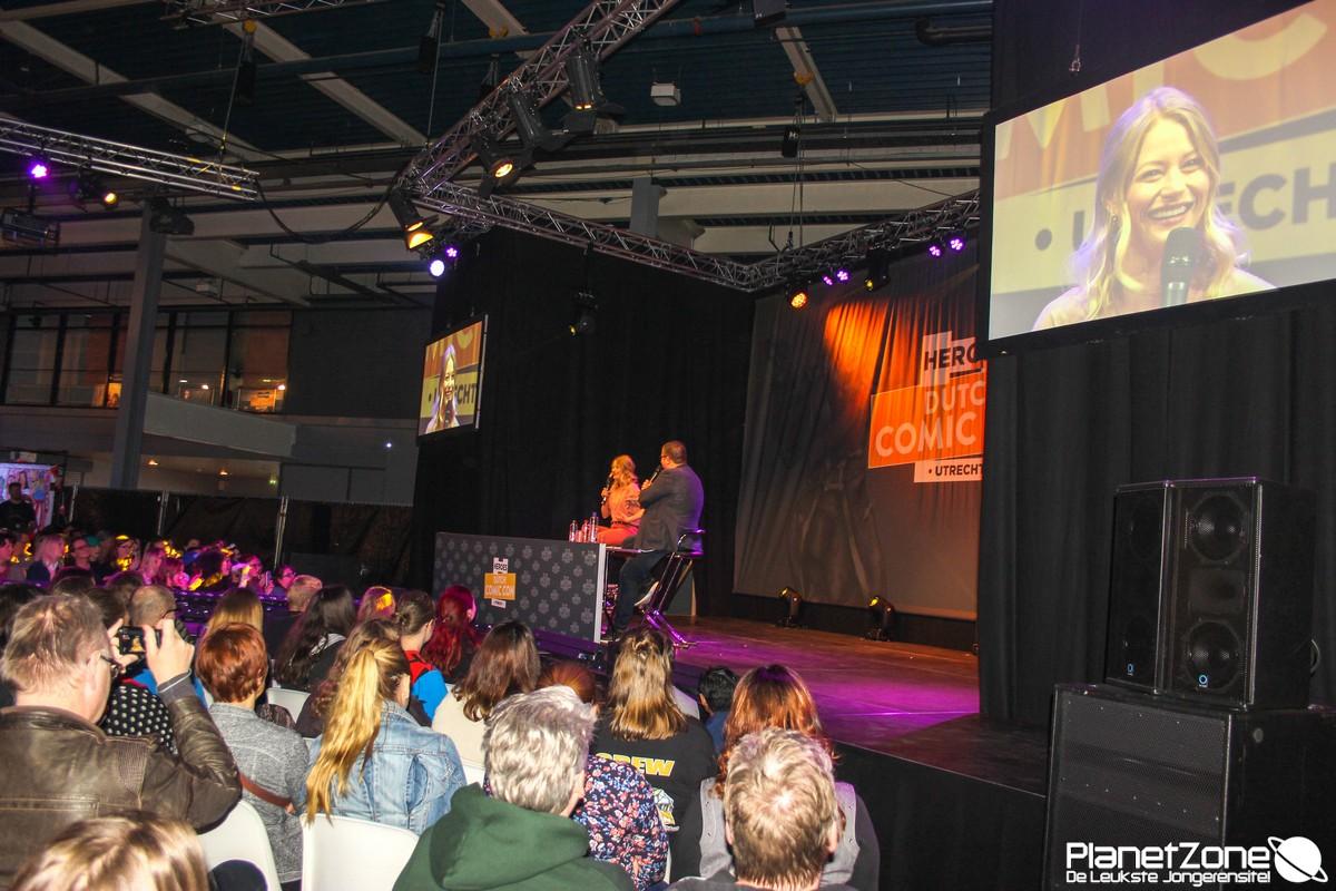 Foto's Dutch Comic Con zondag 1 april 2018