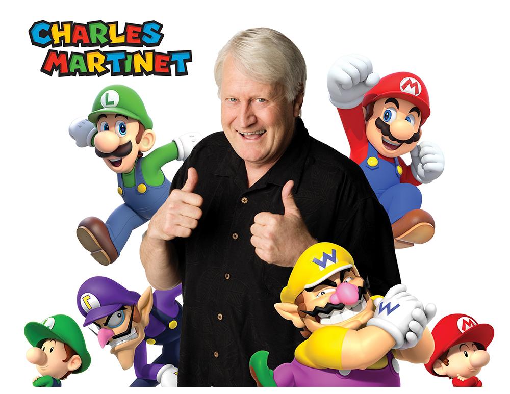 Stemacteur Super Mario op Dutch Comic Con