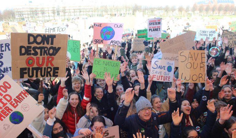 """Klimaatprotest: """"We gaan door"""""""