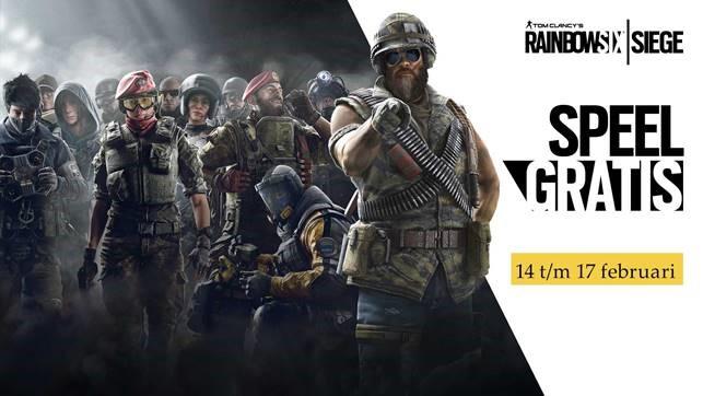 Speel gratis Tom Clancy's Rainbow Six Siege dit weekend
