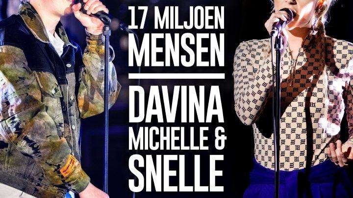 [video] Davina Michelle en Snelle releasen '17 Miljoen Mensen'