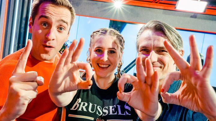 'Hoe Het Danst' op nummer 1 in De Favoriete 1000 van Qmusic België