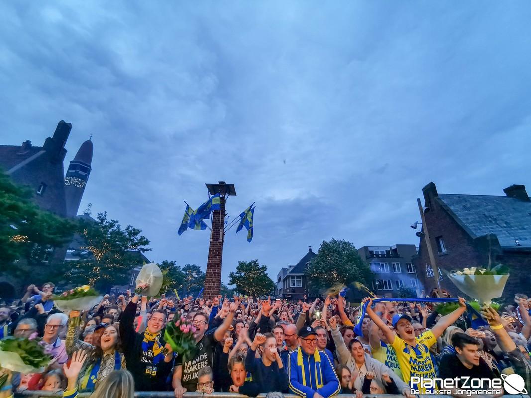 Foto's RKC Waalwijk huldiging 29 mei 2019 (mobiel)