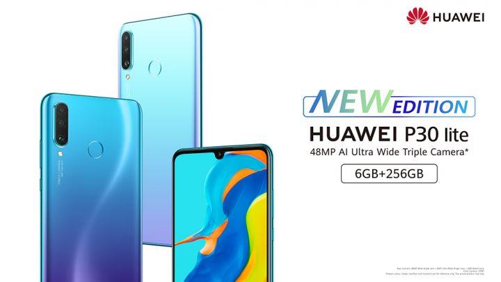Huawei P30 lite New Edition: de eerste P lite serie met 32 MP selfie camera