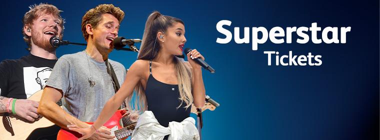 WIN tickets voor Ed Sheeran, Ariana Grande of John Mayer