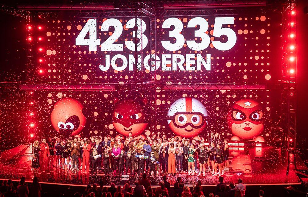 Rode Neuzen Dag België 2019 maakt 423.335 jongeren sterker