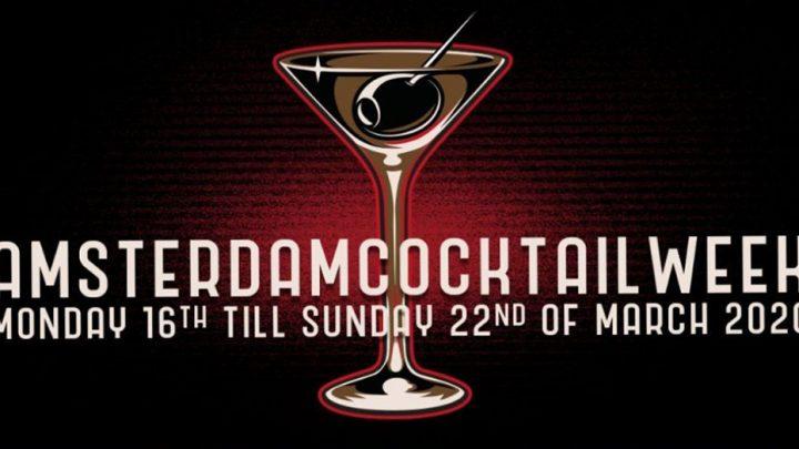 Bijna tijd voor Amsterdam Cocktail Week 2020