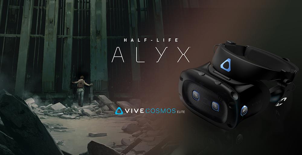 Vive Cosmos Elite nu gebundeld met Half-Life: Alyx