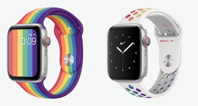 Nieuwe Apple Watch Pride Edition bands