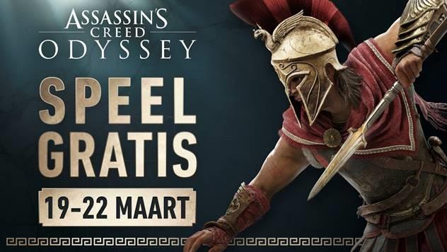Speel Assassin's Creed Odyssey dit weekend gratis