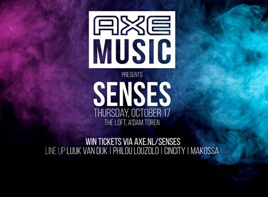 AXE Music presents Senses: een unieke geurervaring tijdens evenement in The Loft Amsterdam