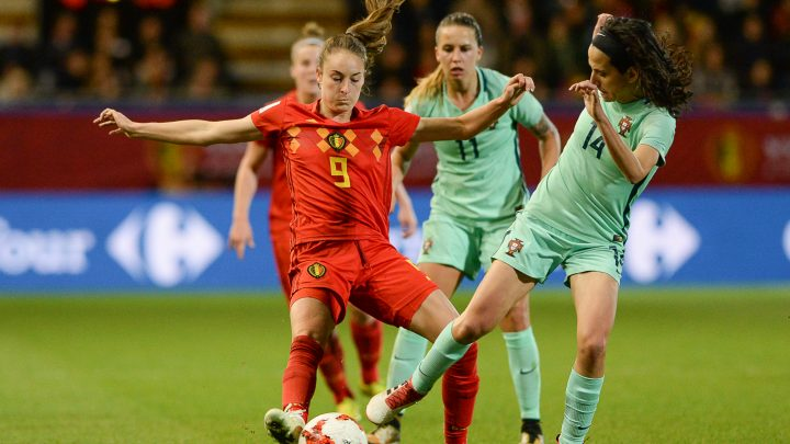 Vrouwenvoetbal op Q2 en SBS 9