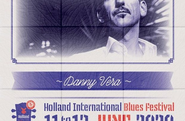 Danny Vera naar Holland International Blues Festival in Grolloo