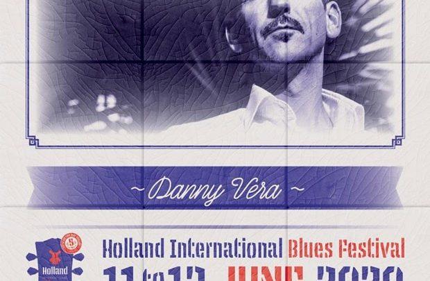 Danny Vera naar Holland International Blues Festival in Grolloo