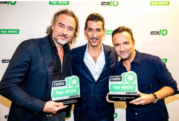 Danny Vera wint twee Top 4000 Awards