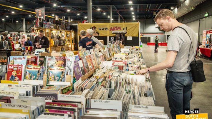 Dit is er te beleven voor comic fans tijdens Heroes Dutch Comic Con