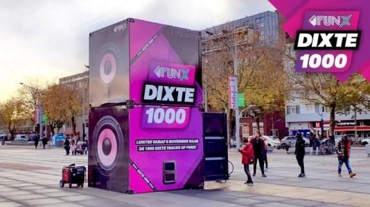 Recordaantal stemmen voor NPO FunX DiXte 1000: de urban hitlijst van Nederland