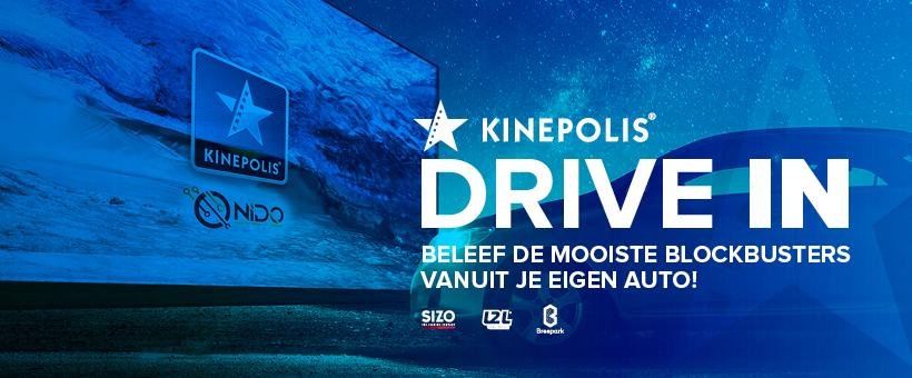 Kinepolis lanceert indoor DriveIn bioscoopop Breepark te Breda