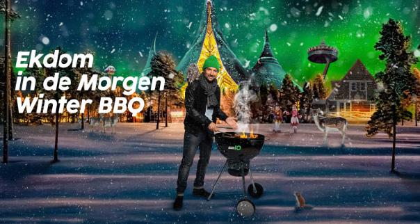 [video] Danny Vera zingt zijn hit 'Roller Coaster' in rollercoaster voor Ekdom in de Morgen Winter BBQ
