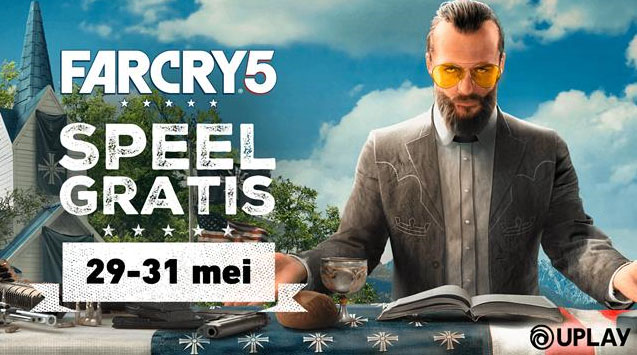 Far Cry 5 dit weekend gratis speelbaar